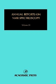 Annual Reports on NMR Spectroscopy - 1st Edition - ISBN: 9780123916617, 9780080584140