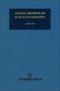 Annual Reports on NMR Spectroscopy - 1st Edition - ISBN: 9780125053327, 9780080584157