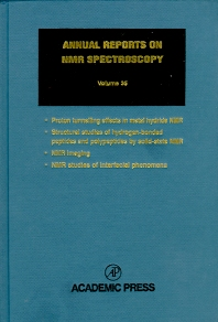 Annual Reports on NMR Spectroscopy - 1st Edition - ISBN: 9780125053358, 9780080584188