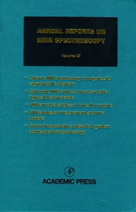 Annual Reports on NMR Spectroscopy - 1st Edition - ISBN: 9780125053372, 9780080584201