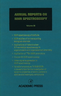 Cover image for Annual Reports on NMR Spectroscopy