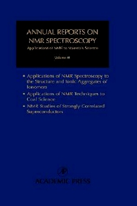 Annual Reports on NMR Spectroscopy, 1st Edition,Graham Webb,Isao Ando,ISBN9780125053440