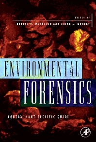 Cover image for Environmental Forensics