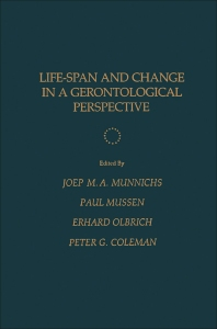 Life-Span and Change in a Gerontological Perspective - 1st Edition - ISBN: 9780125102605, 9781483271934