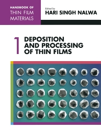 Handbook of Thin Films, Five-Volume Set, 1st Edition,Hari Nalwa,ISBN9780125129084