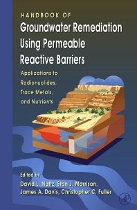 Cover image for Handbook of Groundwater Remediation using Permeable Reactive Barriers