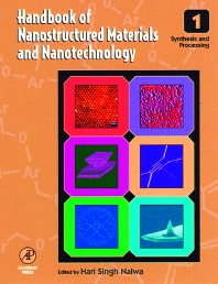 Cover image for Handbook of Nanostructured Materials and Nanotechnology, Five-Volume Set