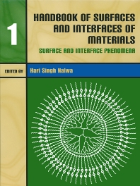 Cover image for Handbook of Surfaces and Interfaces of Materials, Five-Volume Set