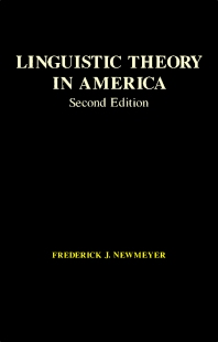 Cover image for Linguistic Theory in America