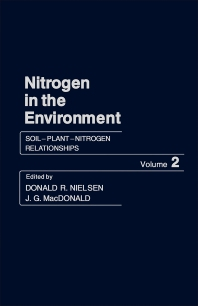 Soil–Plant–Nitrogen Relationships - 1st Edition - ISBN: 9780125184021, 9781483273235