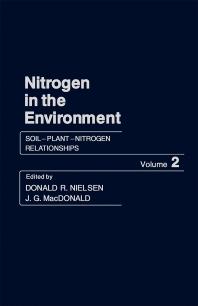 Soil–Plant–Nitrogen Relationships - 1st Edition - ISBN: 9780125184021, 9781483273235