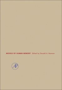 Models of Human Memory - 1st Edition - ISBN: 9780125213509, 9781483258201