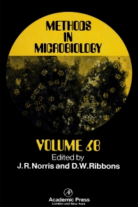 Methods in Microbiology - 1st Edition - ISBN: 9780125215466, 9780080860343