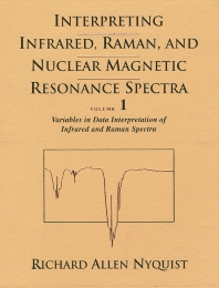 Cover image for Interpreting Infrared, Raman, and Nuclear Magnetic Resonance Spectra