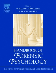 Handbook of Forensic Psychology - 1st Edition - ISBN: 9780125241960, 9780080495101