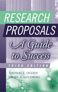 Research Proposals, 3rd Edition,Thomas Ogden,Israel Goldberg,ISBN9780125247337