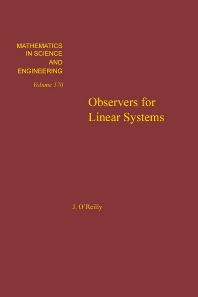 Observers for Linear Systems - 1st Edition - ISBN: 9780125277808, 9780080959993
