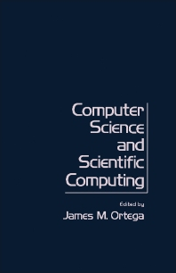 cover of Computer Science and Scientific Computing - 1st Edition