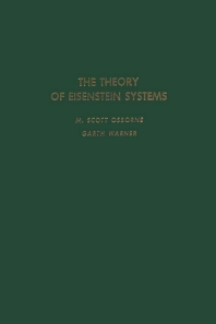 Cover image for The Theory of Eisenstein Systems