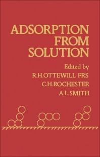Adsorption From Solution - 1st Edition - ISBN: 9780125309806, 9780323155649