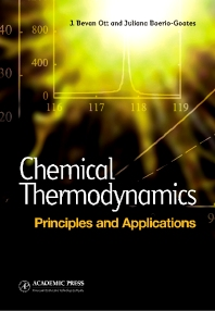 Cover image for Chemical Thermodynamics: Principles and Applications