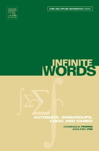 Infinite Words, 1st Edition,Dominique Perrin,Jean-Éric Pin,ISBN9780125321112