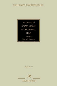 Advances in Plasma-Grown Hydrogenated Films, 1st Edition,V. Agranovich,Deborah Taylor,ISBN9780125330305