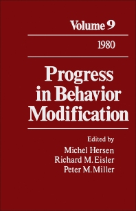 Progress in Behavior Modification - 1st Edition - ISBN: 9780125356091, 9781483219097