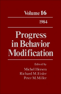 Progress in Behavior Modification - 1st Edition - ISBN: 9780125356169, 9781483219165