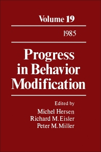 Progress in Behavior Modification - 1st Edition - ISBN: 9780125356190, 9781483219196