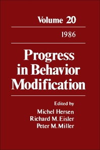 Progress in Behavior Modification - 1st Edition - ISBN: 9780125356206, 9781483219202