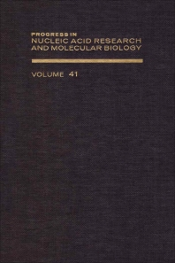 Progress in Nucleic Acid Research and Molecular Biology - 1st Edition - ISBN: 9780125400411, 9780080863290