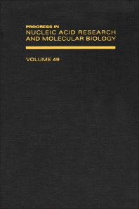 Cover image for Progress in Nucleic Acid Research and Molecular Biology