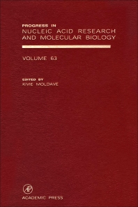 Progress in Nucleic Acid Research and Molecular Biology, 1st Edition,Kivie Moldave,ISBN9780125400633