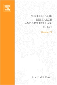 Progress in Nucleic Acid Research and Molecular Biology, 1st Edition,Kivie Moldave,ISBN9780125400718
