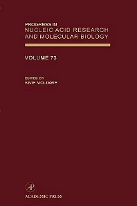 Progress in Nucleic Acid Research and Molecular Biology, 1st Edition,Kivie Moldave,ISBN9780125400732