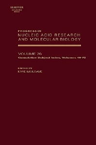Progress in Nucleic Acid Research and Molecular Biology, 1st Edition,Kivie Moldave,ISBN9780125400763
