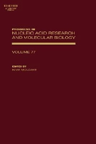 Progress in Nucleic Acid Research and Molecular Biology, 1st Edition,Kivie Moldave,ISBN9780125400770