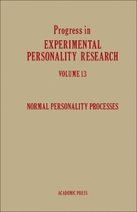 Normal Personality Processes - 1st Edition - ISBN: 9780125414135, 9781483219264
