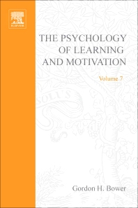 Psychology of Learning and Motivation - 1st Edition - ISBN: 9780125433075, 9780080863580