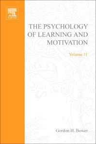 Psychology of Learning and Motivation - 1st Edition - ISBN: 9780125433112, 9780080863627