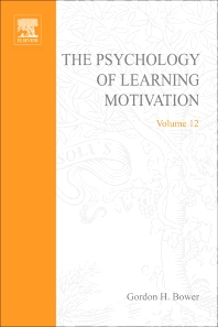Psychology of Learning and Motivation - 1st Edition - ISBN: 9780125433129, 9780080863634
