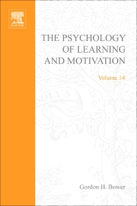 Psychology of Learning and Motivation - 1st Edition - ISBN: 9780125433143, 9780080863658