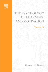 Psychology of Learning and Motivation - 1st Edition - ISBN: 9780125433266, 9780080863771