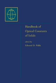 Cover image for Handbook of Optical Constants of Solids, Five-Volume Set