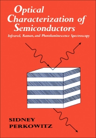 Cover image for Optical Characterization of Semiconductors