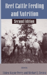 Beef Cattle Feeding and Nutrition - 2nd Edition - ISBN: 9780125520522, 9780080527765