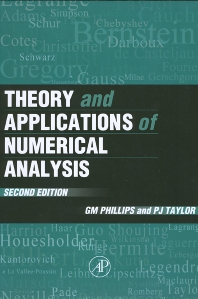 Theory and Applications of Numerical Analysis, 2nd Edition,G. Phillips,Peter Taylor,ISBN9780125535601
