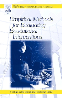 Empirical Methods for Evaluating Educational Interventions - 1st Edition - ISBN: 9780125542579, 9780080455235