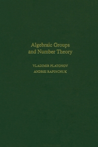 Cover image for Algebraic Groups and Number Theory